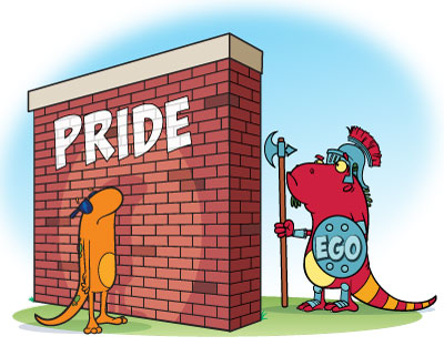 pride and ego