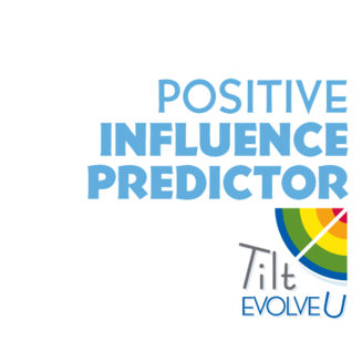 Tilt EvolveU Positive Influence Predictor Certification Logo