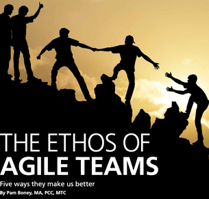 Article by CEO Pam Boney - The Ethos of Agile Teams