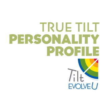 Tilt EvolveU True Tilt Personality Profile Certification Logo