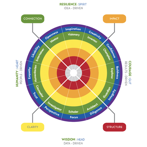 Tilt 365 Personality Assessment Visual Model